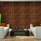 Photo Wallpaper BROWN WICKER PATTERN (3196VE)