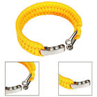 Fashion Durable Outdoor Military Survival Bracelet Cord Wristband For Camping