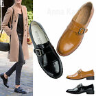 AnnaKastle New Womens Cap Toed Monk Strap Shoes Oxfords US 5 6 7 8