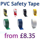 All Colours Sizes Self Adhesive PVC Safety Tape Hazard Warning PVC Floor Tape