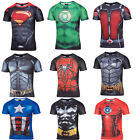 2016 New Women/Man's 3D T-shirt Print Iron Man Super Man Hero Cartoon Casual Top