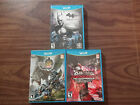 Tekken Tag Tournament 2 + Batman Arkham City + Monster Hunter 3 (Wii U LOT)