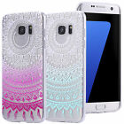 ULTRA THIN CLEAR TPU GEL SKIN CASE COVER  MANDALA TRANSPARENT CLEAR