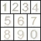 15x10mm Silver Plated  Pewter Number Charm &Ring 2pcs, pick your numbers  0 - 9