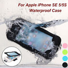 Swimming Waterproof Shockproof Lifeproof Phone Case Cover For iPhone 5 5S SE