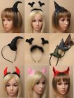 PACK OF HALLOWEEN ALICE BAND / DEELEY BOPPERS - PARTY, FANCY DRESS, HEN NIGHT