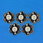 1w 3w Ultra Viole UV LED Chip Lamp Light 365nw 400nm 20mm star base pcb Heatsink