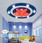 30W LED Ceiling Light Pendant Lamp Chandelier Captain American Hero Living Room