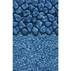 Boulder Swirl Beaded  Above Ground Pool Liner - All Sizes - Free Ship