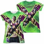 Suicide Squad Taskforce X All Over Print Sublimation Junior Shirt S-XXL