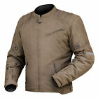 DriRider Mens Scrambler Waxed Textile Jacket - Brown