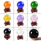 LONGWIN 150MM Crystal Ball Sphere Scrying Balls Photo Props Free Stand Gift