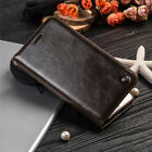 Luxury Leather Wallet Card Holder Flip Case Cover for iPhone & Samsung