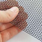 #8 - 0.7mm x 2.48mm Hole Black Epoxy Woven Wire Beekeeping Mesh Beehive Floor