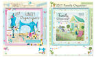 2017 Family Organiser Calendar Planner One Month to view + Wipe off Pen & Note