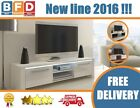 NEW Modern White gloss TV Unit TV Cabinet Entertainment Stand with LED RGB