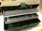 FISHING TACKLE BOX WITH 2 TRAYS