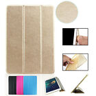 Smart Magnetic Leather Stand Cover Case with Soft Back for iPad Air 2, Mini 2/3