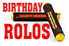 Personalised chocolate rolos HAPPY BIRTHDAY GIFT ROSES ARE RED HAPPY POEMS