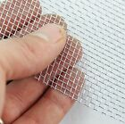 #10 x 0.4mm Wire x 2.14mm Aperture - Galvanised Steel Woven Wire Mesh - Various