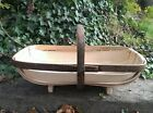 Quality Traditional Hand Made Sussex Trug. Royal Sussex Design. 5 year guarantee