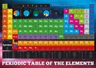 Periodic Table Elements Giant Poster 100x140cm