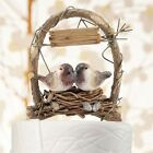 wedding cake with birds - Love Nest in Archway Birds Cake Topper Wedding Reception Gift Romantic Customize