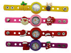 Kids DIY Watch + 16 Christmas Day,santa Claus,christm Charms Party kids Gift Toy
