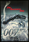 Home Wall Print - Vintage Movie Film Poster - 007 DIE ANOTHER DAY - A4,A3,A2,A1 £14.99 GBP
