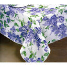 NEW Purple Lilac Bouquet Vinyl Tablecloth