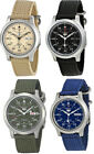 Seiko 5 Men's Automatic Analog Stainless Steel Canvas Watch image