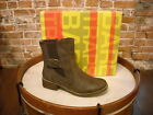 Bare Traps Tansy Dark Brown Buckle Ankle Boots NEW