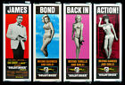 Home Wall Art Print - Vintage Movie Film Poster - GOLDFINGER 3 - A4,A3,A2,A1 £9.59 GBP on eBay