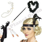 LADIES FLAPPER CHARLESTON GATSBY 1920S 20S FANCY DRESS ACCESSORIES