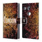 HEAD CASE DESIGNS CITY LIGHTS LEATHER BOOK WALLET CASE COVER FOR LG NEXUS 5X