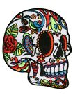 Extreme Largeness White Sugar Skull Patch