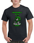 New Unisex Hulk Gym Buff Comic Smash Short Sleeve Novelty T-Shirt Black