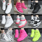 New Women Casual High Top Sport Shoes Velcro LED Fashion Sneaker elevator shoes