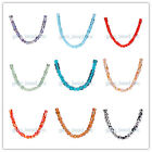 12/50Pcs 8mm Charms Findings For DIY Bracelet Cube Spacer Glass Beads 51Colors