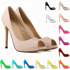 Womens High Heels Summer Sexy Peep Toe Sandals Pumps Platform Shoes US Size 4-11