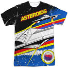 Atari Asteroids Arcade Gamer Sublimation Licensed Adult T Shirt