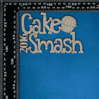 Chipboard Laser Cut Embellishment Cake Smash GR with year selection