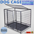 "37"" 42"" 48"" DOG CAGE FLOOR PAN PET PORTABLE ACTIVE DEMAND MODERATE COST GREAT"