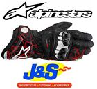 ALPINESTARS GP PRO MOTORCYCLE MOTORBIKE LEATHER RACE RACING TRACK SPORTS GLOVES