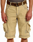 JET LAG Men's Cargo Shorts - LCY - LIGHT GOLD with Remova...
