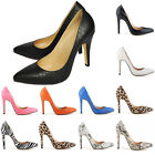 Womens Sexy High Heels Evening Party Queen Stiletto Shoes Snakeskin US Size 4-11