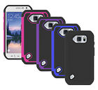 For Samsung Galaxy S6 Active G890A Case Hybrid Dual Layer Armor Protective Cover