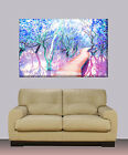 """Huge canvas print Abstract bedroom painting 30""""x40"""""""