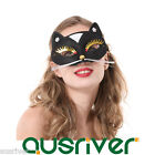 Women Half Face Cat Fox Cosplay Party Mask Ball Masquerade Props Halloween Gift