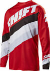 Shift Racing Red/Black/White White Label Tarmac Dirt Bike Jersey MX ATV BMX MTB